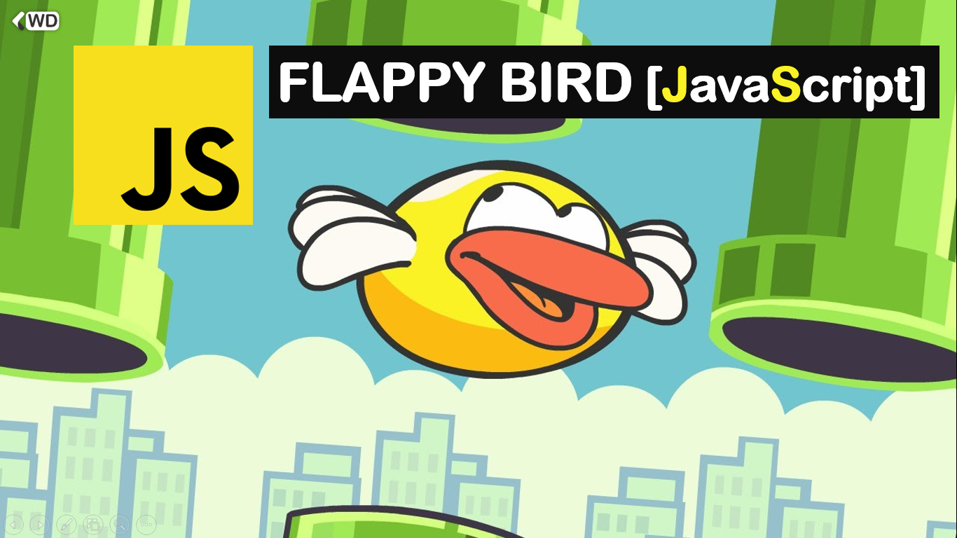Create the Flappy Bird Game Using JavaScript | Code Explained