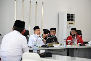 Bupati Zahir RDP Dengan Baznas Sumut, Al-Jamiyatul Washliyah dan Mimbar Batu Bara