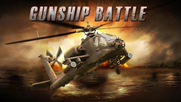 GUNSHIP BATTLE Helicopter 3D 2.7.22 APK + (Mod Money)