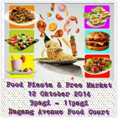 FreeMarket Sepanjang Oktober 2014 : Food Fiesta