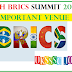 8TH BRICS SUMMIT-2016 INDIA | IMPORTANT SUMMIT
