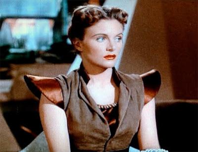 Virginia Huston as Carol Stadwick in Flight to Mars (1951)