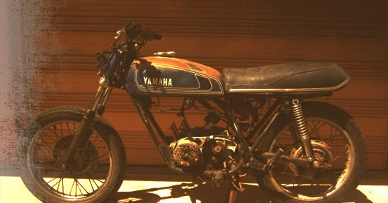 Boarce: Project bike: 1975 Yamaha RD350