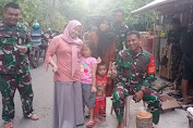 Inilah Kejutan Warga Dusun Tola Ke Pak Dandim Selayar Saat Kunjungi Lokasi TMMD