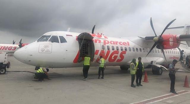 Jihar News, Akibat Kabut Asap, Pesawat Wings Air Gagal Mendarat Bandara Cut Nyak Dhien Nagan Raya