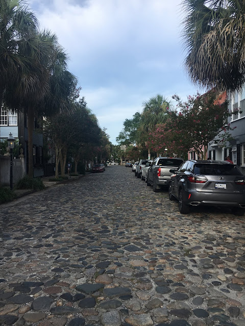 Cobblestone Streets of Charleston, SC