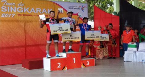 Akhirnya Pebalap Asal Malaysia, Mohd Shahrul Mat Amin Merebut Juara Etape Terakhir Tour De Singkarak (Tds) 2017