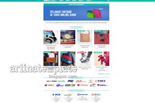 template toko online terbaru 2020