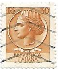 Selo Itália Turrita, 30 Lira