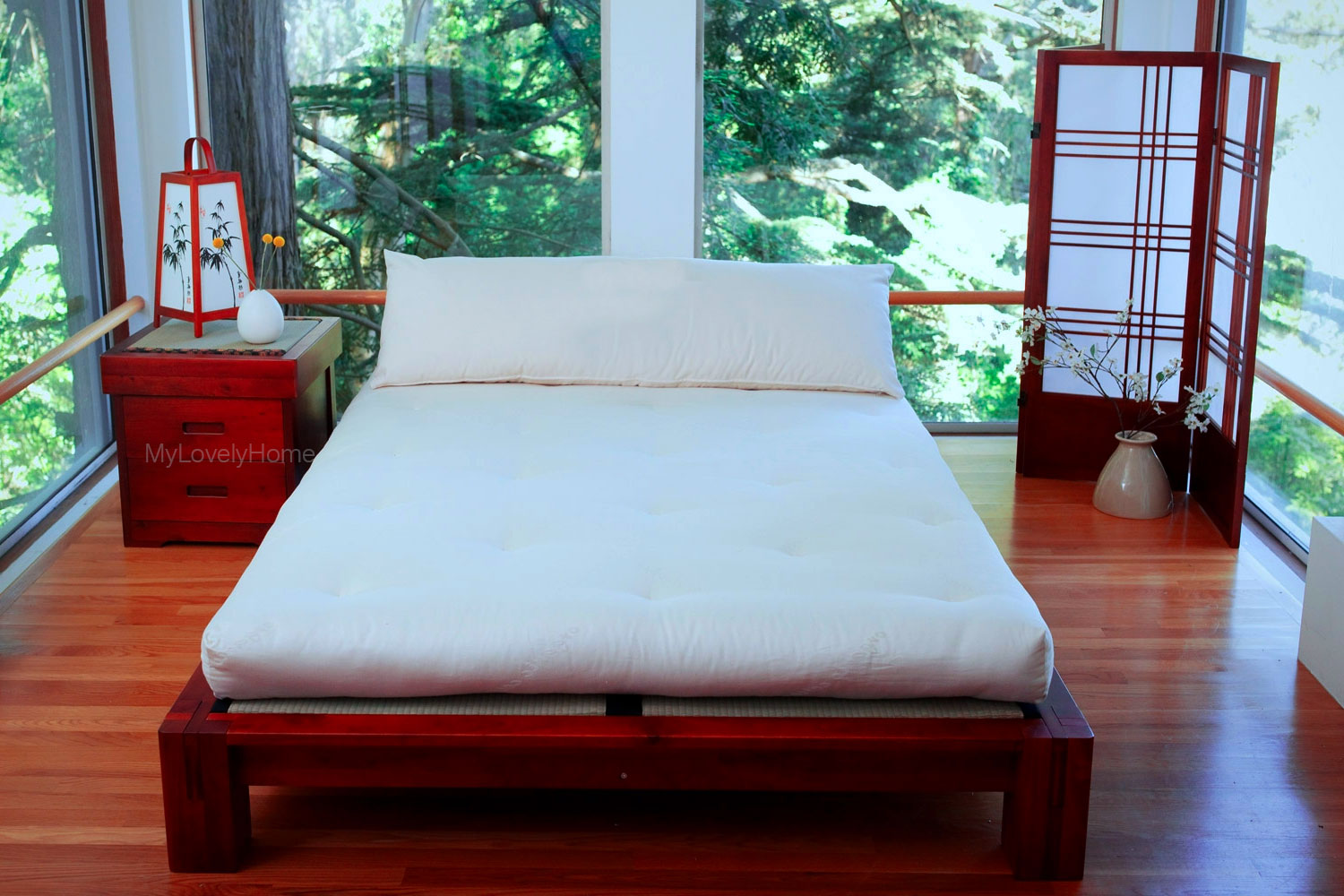 Japanese Style Bedroom Furniture Set Ideas - My Lovely Home