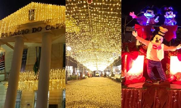 Decoração Natalina da Prefeitura surpreende e encanta moradores e visitantes