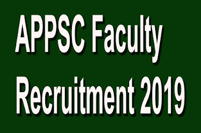 appsc-faculty-recruitment-2019