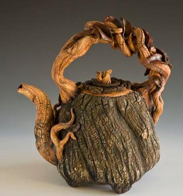 Log Teapot