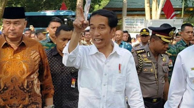 Jokowi: Sabar Ada Batasnya, Jangan Dipikir-pikir Saya Takut
