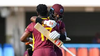 Evin Lewis 103 - West Indies vs Sri Lanka 2nd ODI 2021 Highlights