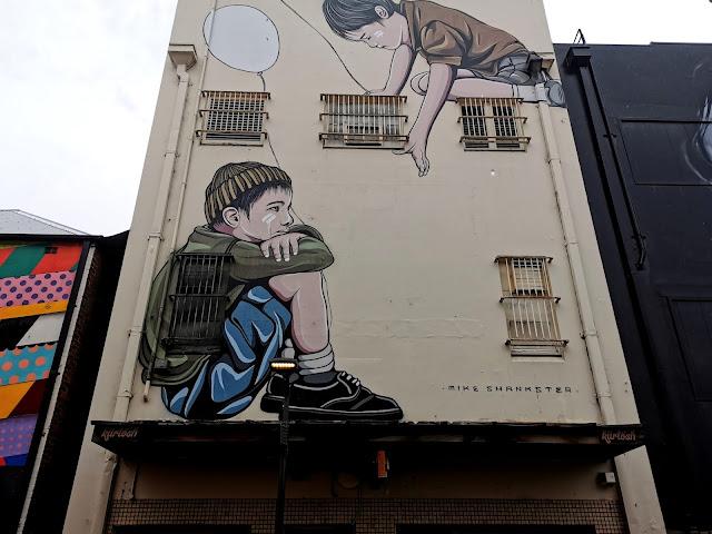 Street Art in Wollongong by Mike Shankster
