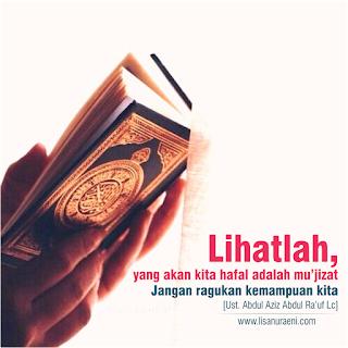 Tidak berdosa jika lupa ketika menghafalkan Al Qur'an