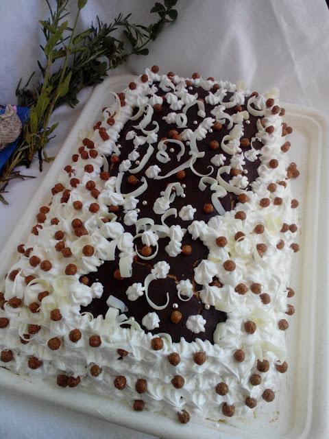 Crno- bela torta
