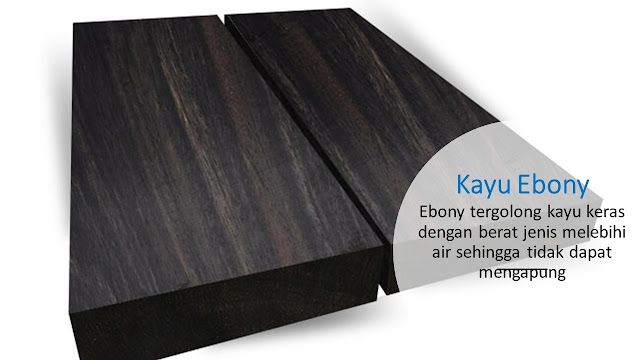 Teksture Kayu Ebony