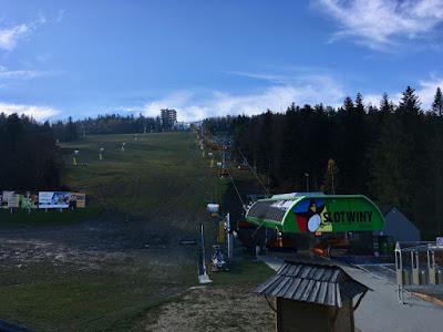 Stacja narciarska Słotwiny Arena Krynica Zdrój wieża widokowa