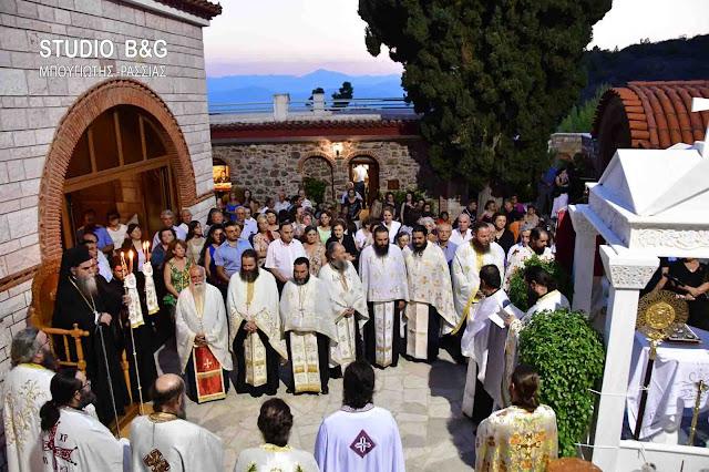 Η Αργολίδα γιορτάζει τον προστάτη της Άγιο Θεοδόσιο το νέο (βίντεο)