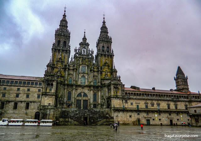 Catedral de Santiago de Compostela, Galícia, Espanha
