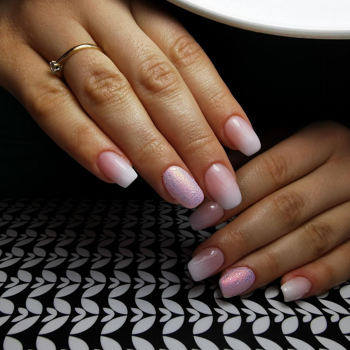 paznokcie bubble nails