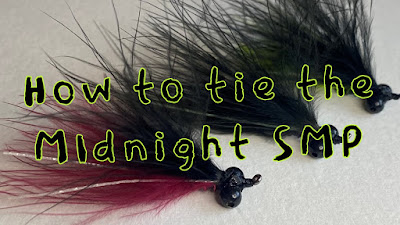 Tuesday Ties, SMP, Night Fly, Fly for fishing nights, How to tie a fly, how to tie the SMP, SMP fly, Nightime SMP, Midnight SMP, Texas Freshwater Fly Fishing, TFFF, Fly Fishing Texas, Texas Fly Fishing, Pat Kellner