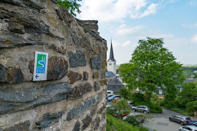 Saar-Hunsrück-Steig Etappe 20 Von Mörsdorf nach Kastellaun  Hängebrücke Geierlay Wandern im Hunsrück Traumschleifen-Hunsrück 17