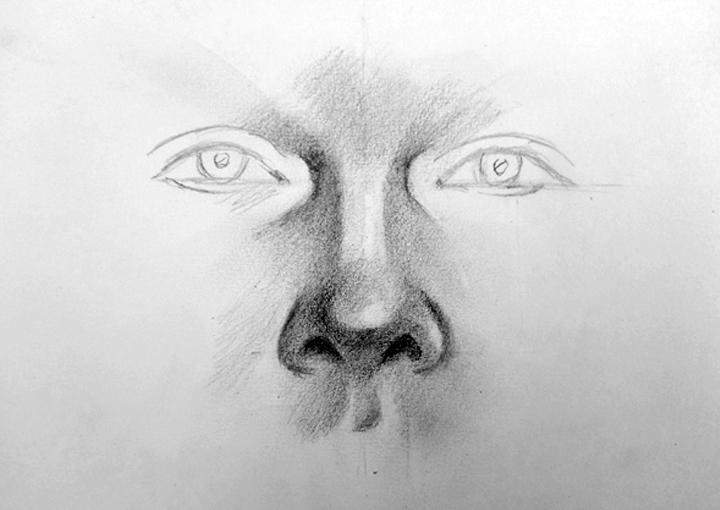 El Taller De Miguel Angel Como Dibujar Una Nariz Paso A Paso