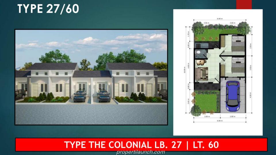 Dijual Rumah Tenjo City Bogor Tipe 27