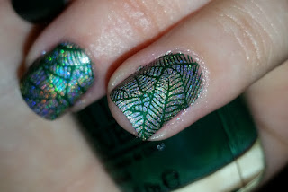 Nail Art Design with MoYou's Tropical Plate No.12