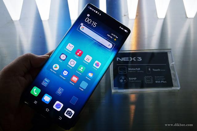 Vivo NEX 3 Telefon Mudah Alih Premium Yang Terbaik