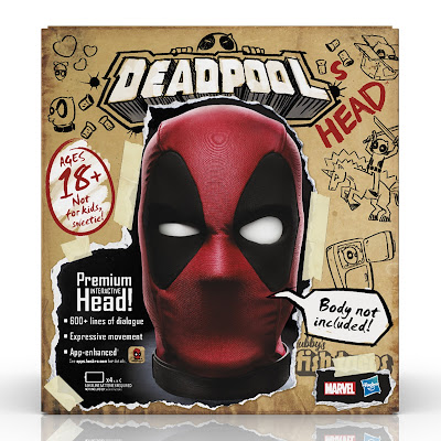 Marvel Legends Deadpool's Head Premium Interactive Head by Hasbro
