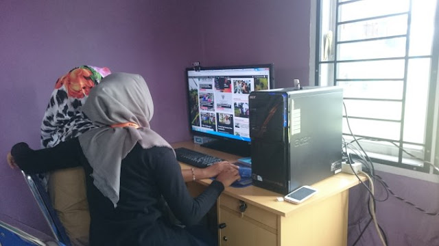 Traning Pengelolaan Website Gampong Cot Baroh