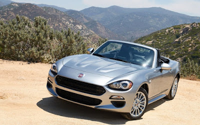 2017 FIAT 124 Spider Hd wallpaper