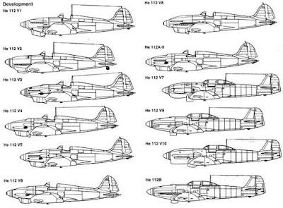 1/144 Heinkel He 112B diecast metal aircraft miniature