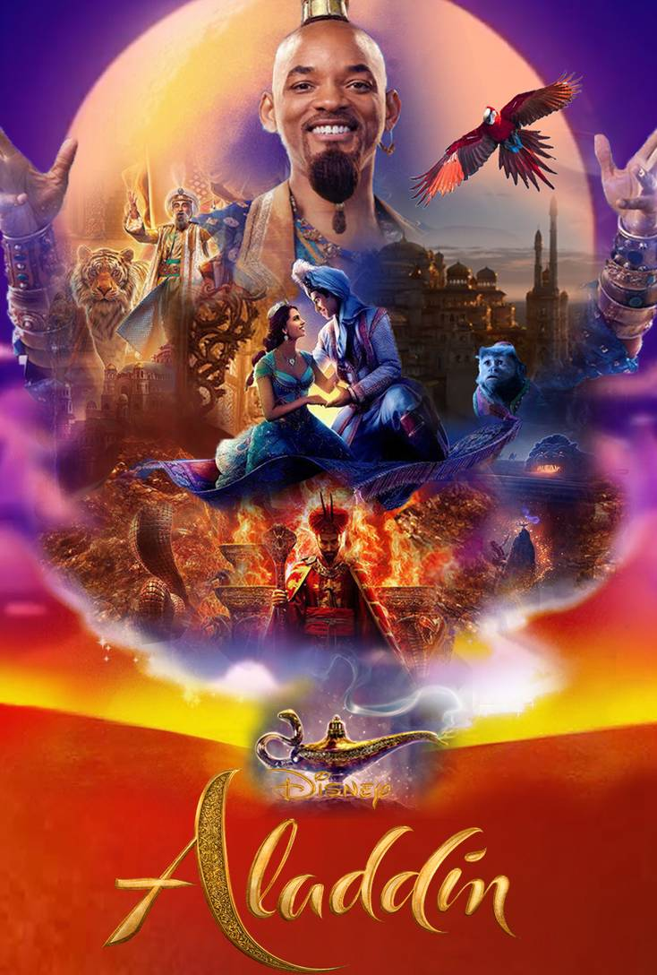 Aladdin [2019] [CUSTOM HD] [DVDR] [NTSC] [Latino]