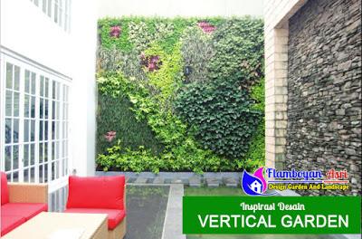 Jasa Pembuatan Vertical garden