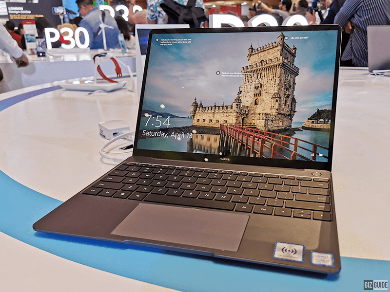 Huawei Matebook 13 with OneHop File Transfer now official in the Philippines