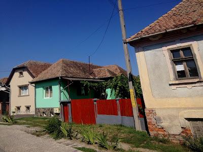 Kolorowe domy rumuńskie
