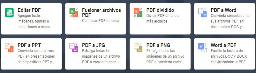 PDF en línea