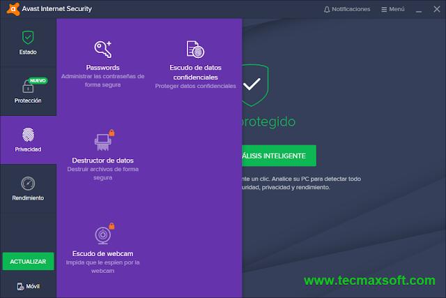Free Avast Internet Security 2018 Licencia gratis captura 4