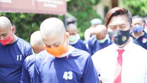 Bandar Sayur Pengeroyok Anggota Ormas, Berhasil Ditangkap Polisi
