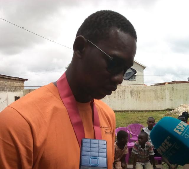monsieur Camara Ahmed Sékou le président du club