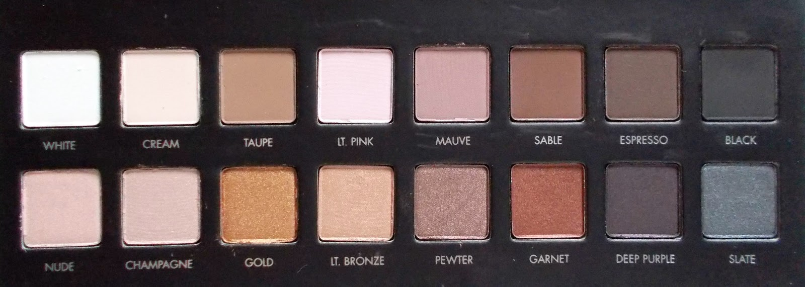 Lorac PRO Palette close up