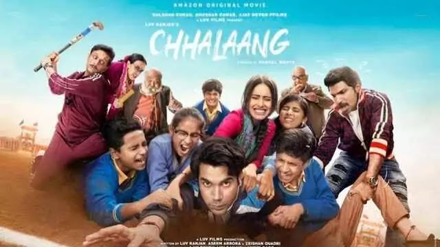 Chhalaang Full Movie Cast Story Release date - Amazon Prime