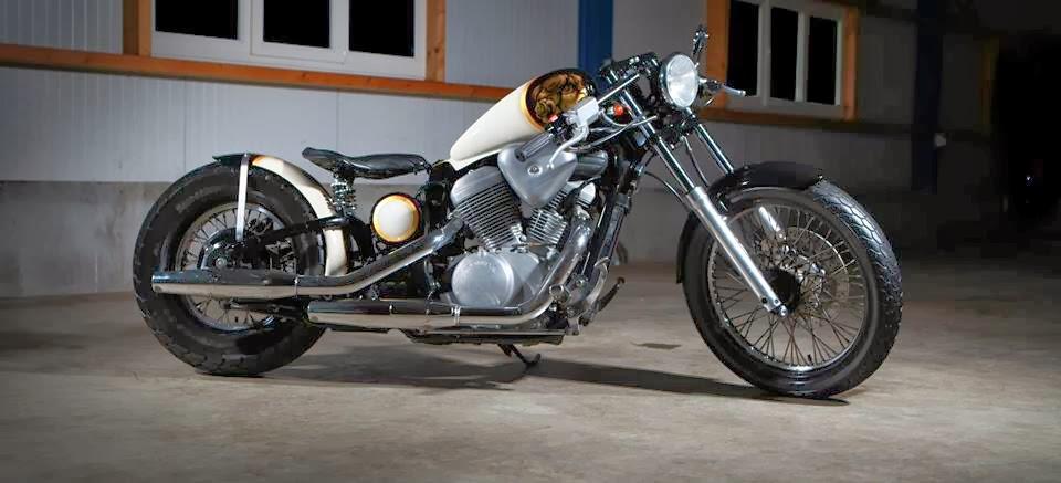 honda shadow vt 600 bobber by luuc muis lsr bikes. Black Bedroom Furniture Sets. Home Design Ideas