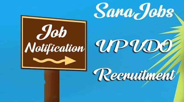 UPSSSC VDO Recruitment Notification