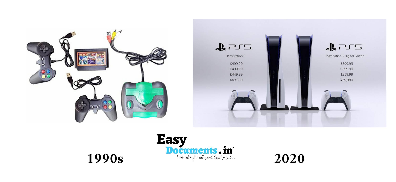 Video games in 90s vs 2020